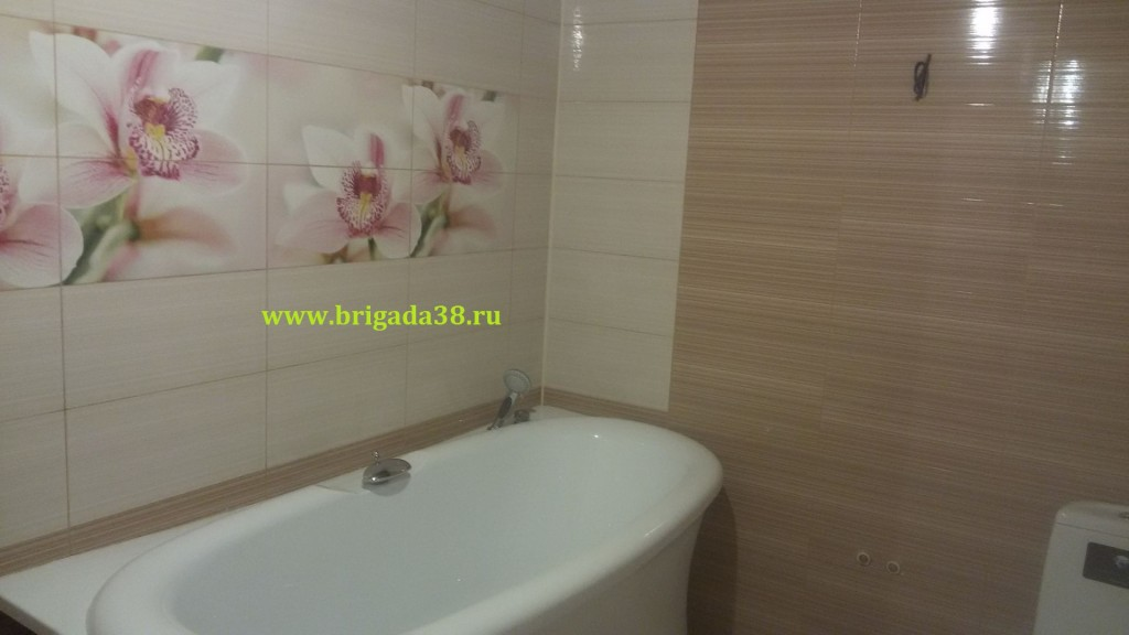 Ремонт ванной комнаты Байкальская 317